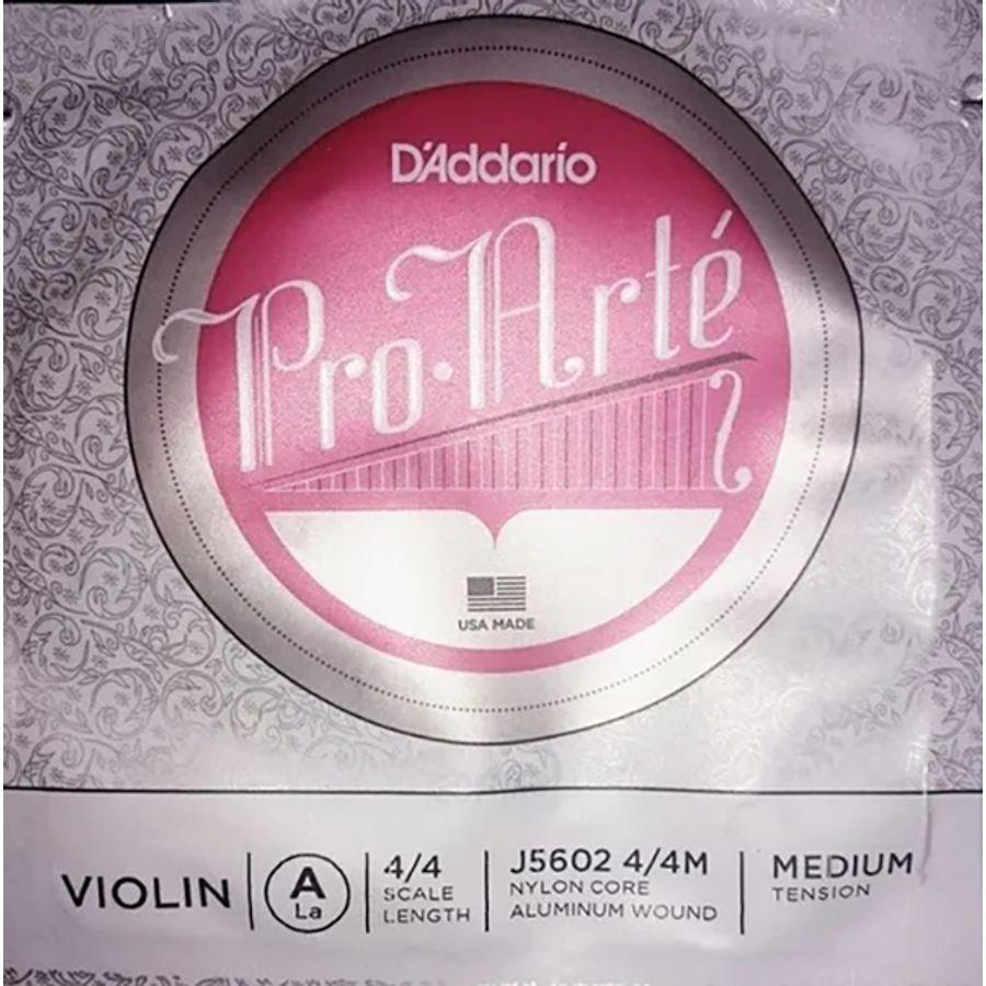 Cuerda-2º-Daddario-J56024-4m-Violin-4-4-Proate-A-aluminio-tension-Media