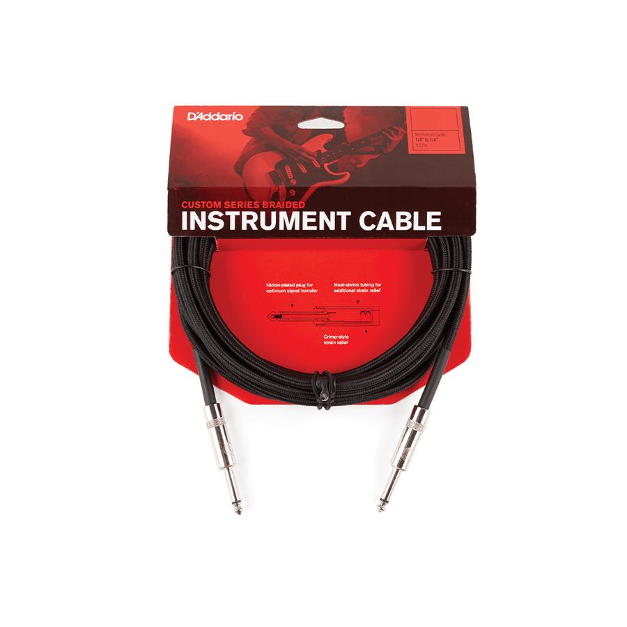 Cable-Planet-Waves-Pw-bg-20-Instrumentos-Plug-plug-6m-Tela-Black