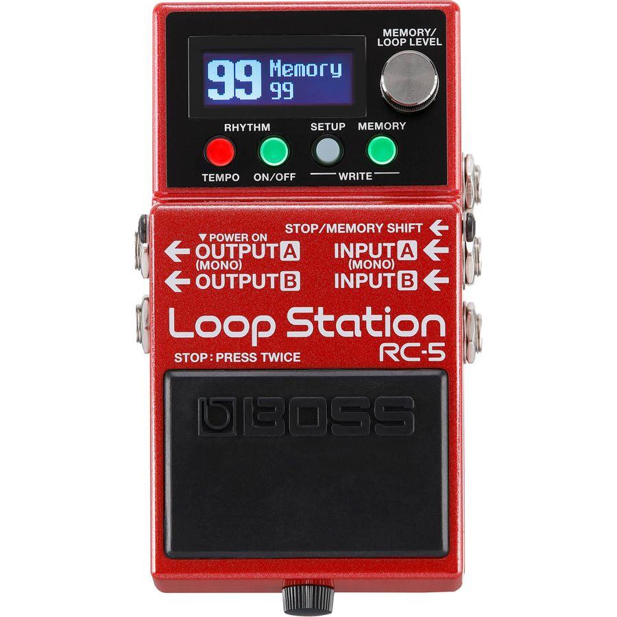Pedal-Guitarra-Boss-Loop-Station-Rc5-Looper