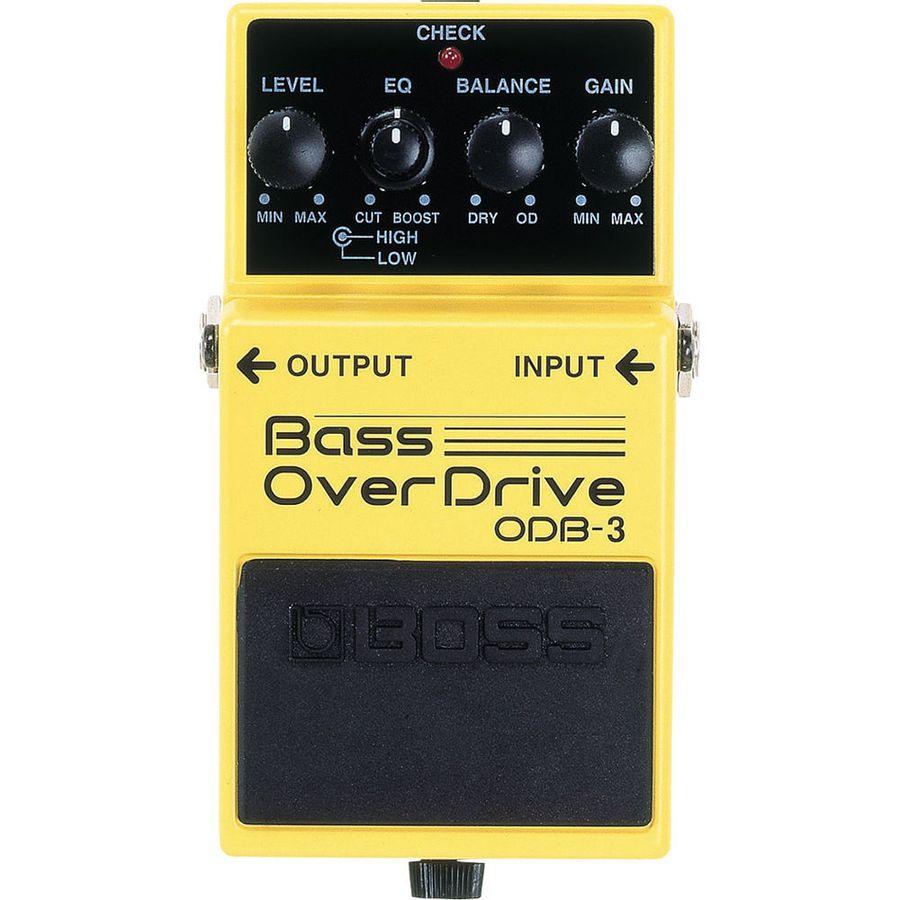 Pedal-Para-Bajo-Boss-Odb3-Overdrive-9v