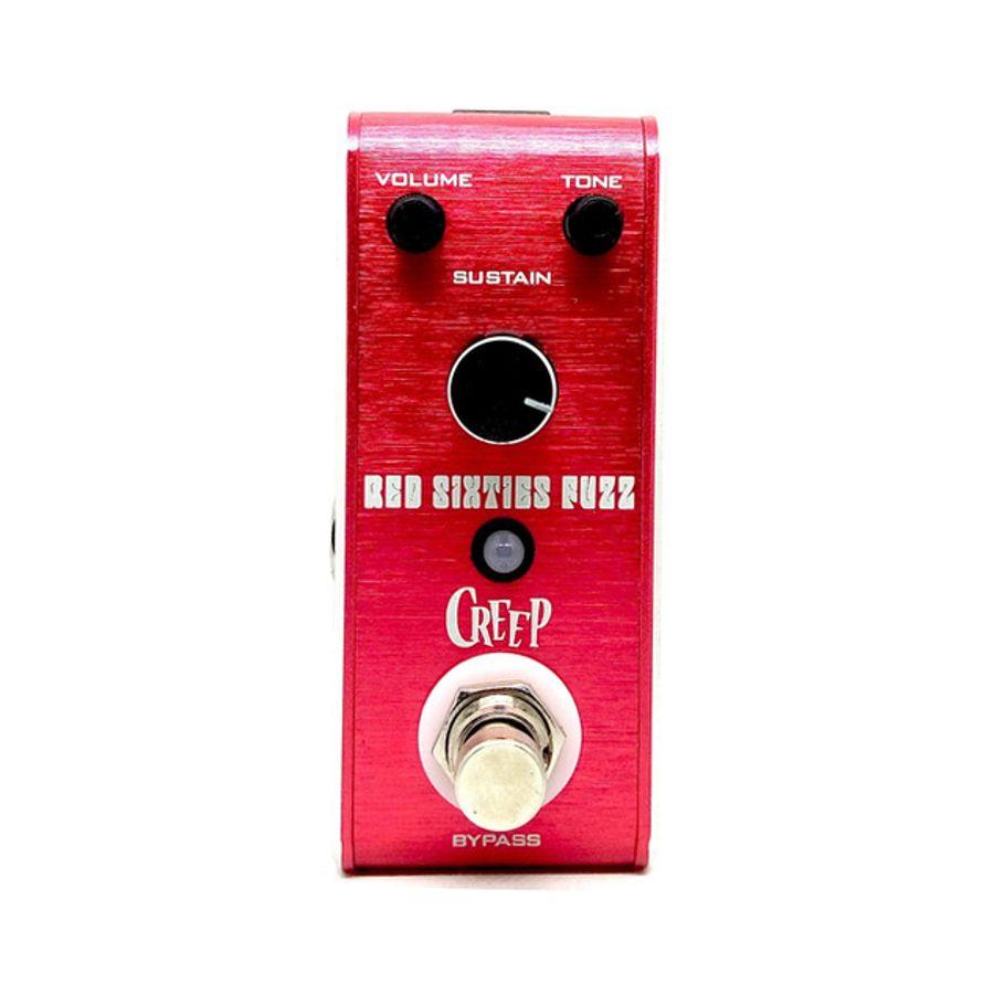 Pedal-De-Efecto-Creep-Fuzz-Modelo-Red-Sixties-Fuzz
