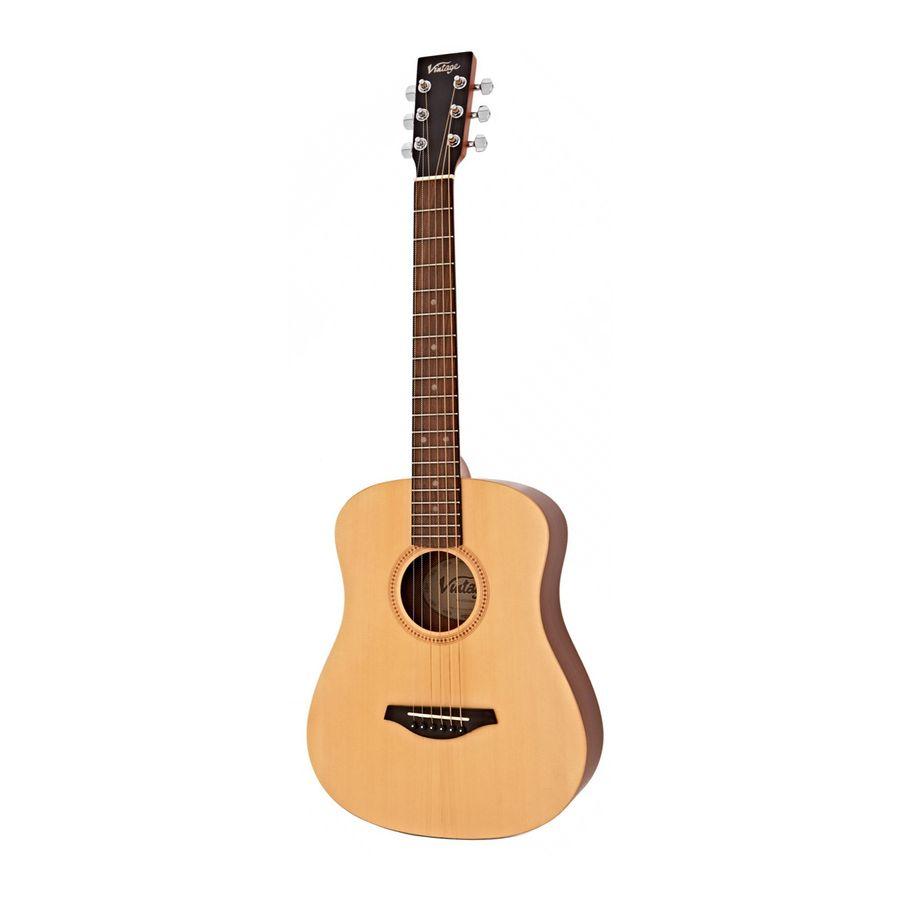Guitarra-Acustica-Vintage-Lhvtg100-Travel-Zurda-Con-Funda