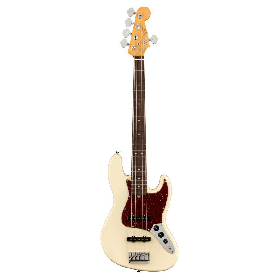 Bajo-Fender-Jazz-Bazz-American-Professional-Ii-5c-Estuche-Olympic-White