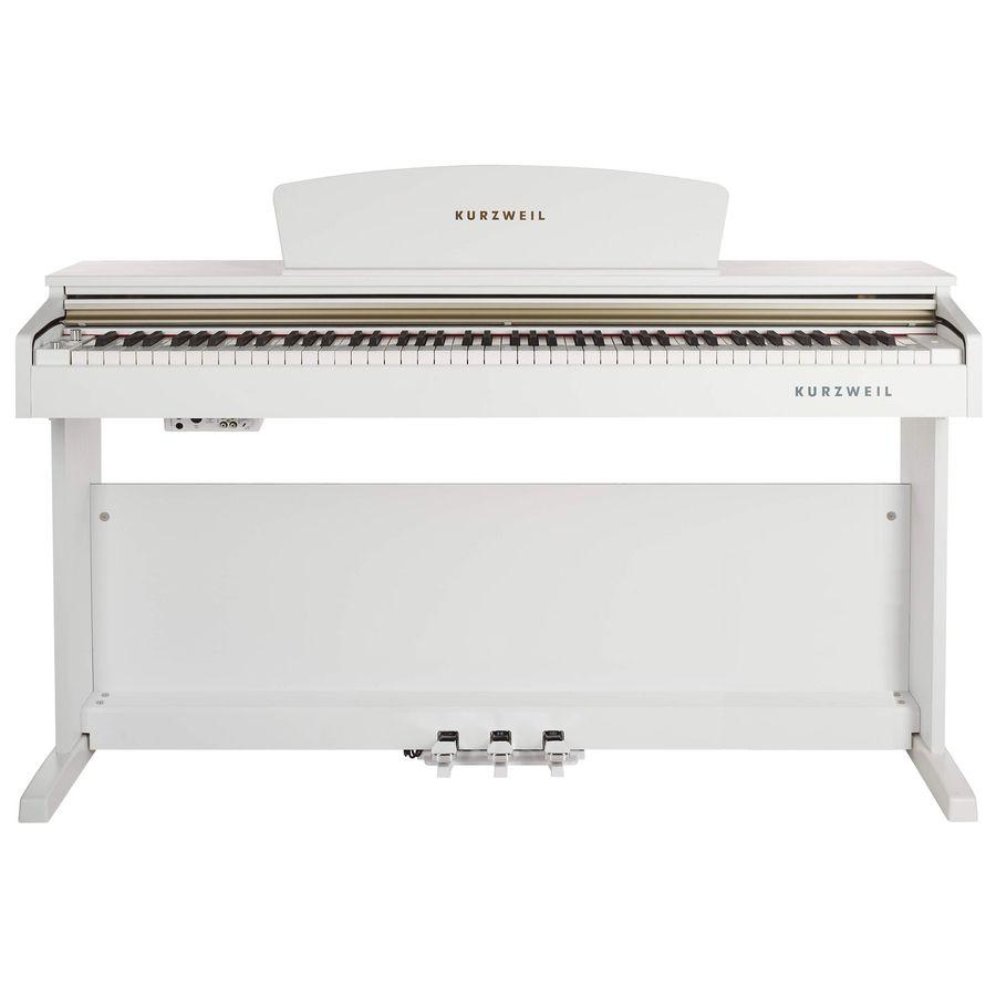 Piano-Digital-Kurzweil-M90wh-88-T-Blanco-Mueble-Banqueta