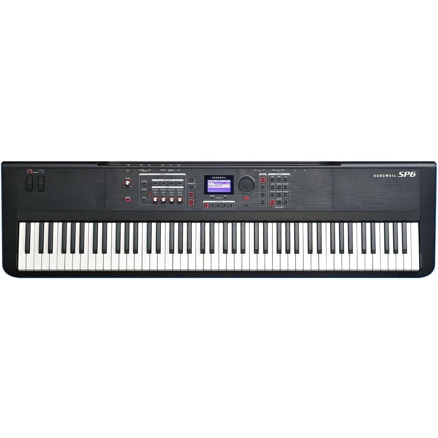 Piano-Stage-88-Teclas-Pesadas-Kurzweil-Sp6-Negro-Usb