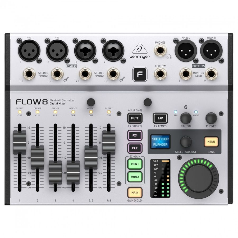 Consola-Digital-Behringer-Flow8-8-Canales-Bluetooth-Usb